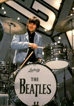 """.""""...it's got the backbeat, you can't lose it...""""---And, That Winning """"...backbeat..."""" Came When Ringo Joined The Band,...For Sure!!"""