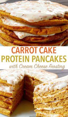 ... carrot cake protein pancakes, protein pancakes, carrot cake, gluten