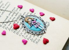 Valentines day Angel Gift for her Cute Girl Heart by RadArtaDesign