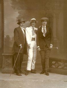 19th century women in menswear