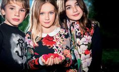 Roberto Cavalli Kids Fashion For Fall/Winter 2015 Collections