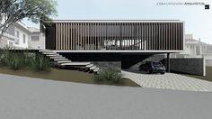 Casa Pátio Santo Antônio de Lisboa, Florianópolis  2016. #casa #arquitetura #casas #concreto #florianopolis #arquitetos #ideias #fachada #arquitectura #houses