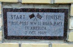 Start Finish Line in Watkins Glen.