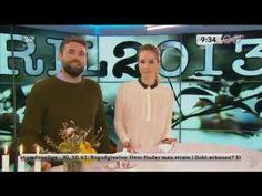 1. April 2013 - Go'Morgen Danmark anbefaler Bacon Masken (Danish Skin Cares 1. aprilsnar)