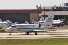 Saxon Copy Air N126AA Cessna 680 Citation Sovereign 680-0037 FLL Ft Lauderdale Airport 2011
