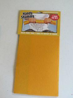 *Handy Shammy* from Dollar Tree