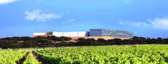 Menudas instalaciones tienen nuestros amigos de Finca Antigua. All what you see in the pic, its from Finca Antigua, awesome! Bodegas, viñedos, vino, wine, vineyard.