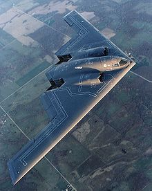 The B-2 stealth bomber, when you need to place a nuclear warhead on your enemy's door step without them knowing