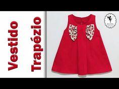 YouTube Baby Girl Frocks, Frocks For Girls, Dresses Kids Girl, Cute Dresses, Baby Girl Frock Design, Tandoori Masala, Baby Dress Patterns, Fancy Blouse Designs, Dress Cuts