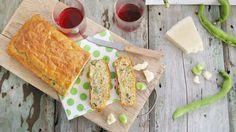 Plumcake salato fave e pecorino - Miria, due amiche in cucina