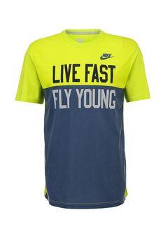 Кеды Nike / Найк женские. Цвет: красный. Материал: текстиль. Сезон: Весна-лето 2014. С бесплатной доставкой и примеркой на Lamoda. http://j.mp/1kh2Gqs