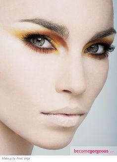 Wild Party Eye Makeup Idea