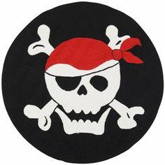 Skull and Cross Bones Rug $120.00