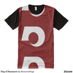 Flag of Kumamoto All-Over Print T-Shirt