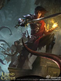 Artist: Wang Lei aka Jack Wang (Concept Art House) - Title: Unknown - Card: Adventurer Ferdinand #magus