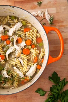 the perfect chicken noodle soup recipe