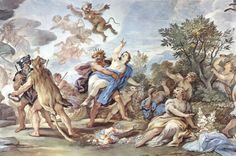 El rapto de Proserpina____ Luca Giordano.