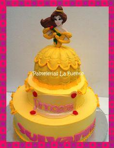 Pastel de la Princesa Bella
