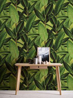 Vliestapete Neue Bude 2.0 Dschungel Blätter grün 36201-1