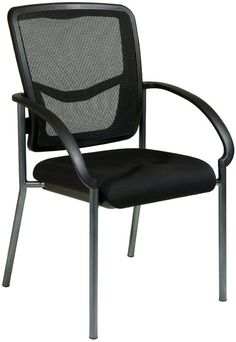 a05b5ad1a Office Star Pro-Line II 85670-30 ProGrid® Back Visitors Chair with Arms