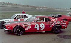 Yes NASCAR - Bobby Allison's Holman Moody Grand American Mustang 1971