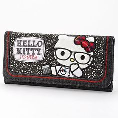 Hello Kitty Nerds Checkbook Wallet