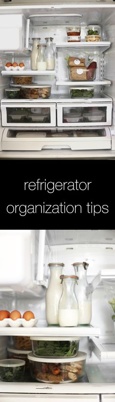 It's National Clean Out Your Refrigerator Day! Here are some tips on how to organize your fridge!