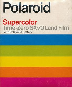 I've always loved the Polaroid graphics.