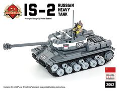 Brickmania - IS-2 Russian Heavy Tank - Premium Black Box Edition Kit, $345.00 (http://www.brickmania.com/is-2-russian-heavy-tank-premium-black-box-edition-kit/)