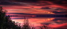Sunrise over Presque Isle Bay. Presque Isle State Park, State Parks, Natural Beauty, Sunrise, Solar, Sky, Places, Nature, Photography