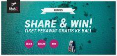 Aku mengambil bagian dalam kontes #Tiket2Indonesia Share & Win