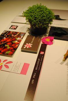 identité visuelle Un peu, beaucoup  drawing our dreams makes them come true  http://www.unpeu-beaucoup.com/
