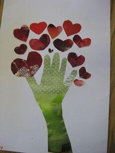 Magazine Valentine's Day Art