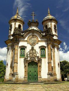 Church of Saint Francis of Assisi, Ouro Preto, Minas Gerais by lucasgalodoido.