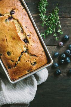 Blueberry Lemon Thyme Bread -