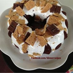S Mores Cake Pampered Chef