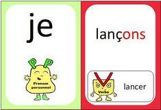 Jeu De Cartes Present Des Verbes En Er Conjugaison Ce2