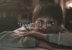 """Good will win."" - Just OUAT things"