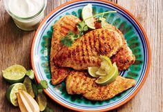 Poitrine de poulet tandoori