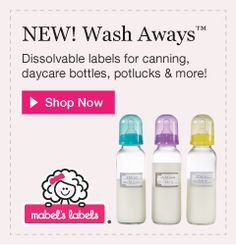 Exciting news alert! Mabel's Labels has just launched their new line of Wash Away Labels . These labels are perfect for potluck dishe. Mabel's Labels, Exciting News, Saving Money, Product Launch, Bottle, Blog, Save My Money, Flask, Money Savers