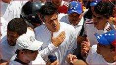 Venezuela. Opositor Leopoldo López se entregó a la Guardia Nacional