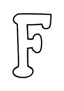 Moldes De Letras Tamanho Grande Para Imprimir Alfabeto Com
