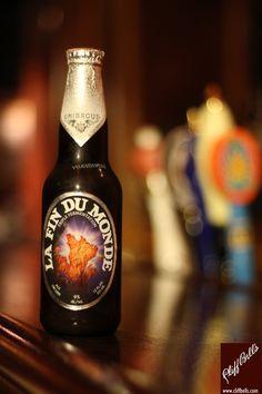 Unibroue - La Fin Du Monde. I love this beer / Junto con la Don de Dieu mis cervezas favoritas