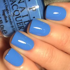 *panties have officially left my body* OPI Rich Girls & Po-Boys from the New Orleans line. This is the blue that I've been waiting for!!!…