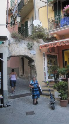 Monterosso, #Cinque Terre village in #Italy. Garibaldi Piazza.  This is near the hotel we stay at during my #ItalyRetreat for women--part workshop/part travel adventure in #Liguria and Tuscany. http://www.ItalyRetreatForWomen.com