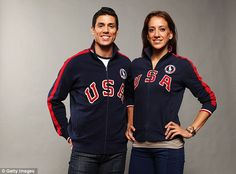 Two-time Olympic gold medalist Steven Lopez, left, will be heading to the UK with his sister, Diana