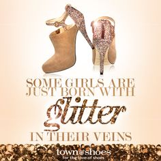 ¸.•*¨*•Some girls are just born with glitter in their veins•*¨*•.¸    Enzo Angiolini  | 114231182 | www.townshoes.com
