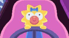 Simpsons Pixels by Paul Robertson & Ivan Dixon | Inspiration Grid | Design Inspiration