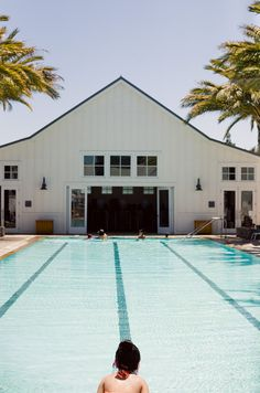 Pool time at The Carneros Inn at Napa, CA. Love their family and kid pools. // room for my road trip courtesy of @We ♥ Hotels.com // photo by Bonnie Tsang