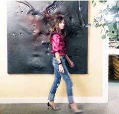 To me, one of the best and easiest ways to refresh your living space is with art. The most important aspect of a room is the spirit it conjures and art is a favorite way of mine to imbue a room wit...